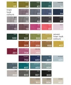 Free linen fabric swatches